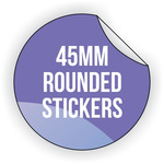Round Vinyl Sticker 45mm x 45mm